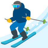 Skier on Google Android 7.0