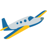 Small Airplane on Google Android 7.0