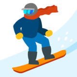Snowboarder on Google Android 7.0