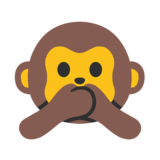 Speak-No-Evil Monkey on Google Android 7.0