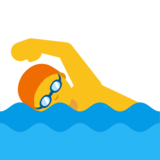 Person Swimming on Google Android 7.0