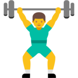 Person Lifting Weights on Google Android 7.0