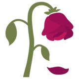 Wilted Flower on Google Android 7.0
