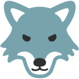 Wolf Face on Google Android 7.0