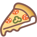Pizza on Google Android 4.4