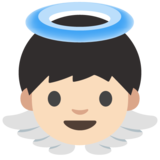 Baby Angel: Light Skin Tone on Google Android 7.1