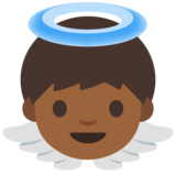 Baby Angel: Medium-Dark Skin Tone on Google Android 7.1
