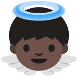 Baby Angel: Dark Skin Tone on Google Android 7.1