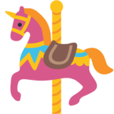 Carousel Horse on Google Android 7.1