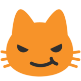 Cat With Wry Smile on Google Android 7.1