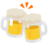 Clinking Beer Mugs on Google Android 7.1
