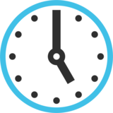 Five O'Clock on Google Android 7.1