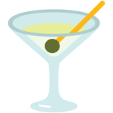 Cocktail Glass on Google Android 7.1