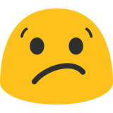 Confused Face on Google Android 7.1