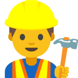 Construction Worker on Google Android 7.1