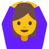 Person Gesturing OK on Google Android 7.1
