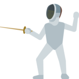 Person Fencing on Google Android 7.1