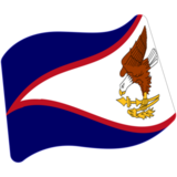 Flag: American Samoa on Google Android 7.1