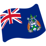 Flag: Ascension Island on Google Android 7.1