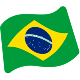 Flag: Brazil on Google Android 7.1