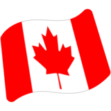 Flag: Canada on Google Android 7.1