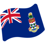 Flag: Cayman Islands on Google Android 7.1
