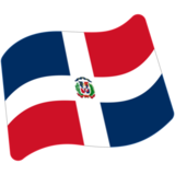 Flag: Dominican Republic on Google Android 7.1