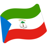 Flag: Equatorial Guinea on Google Android 7.1