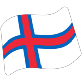 Flag: Faroe Islands on Google Android 7.1
