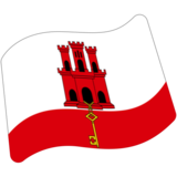Flag: Gibraltar on Google Android 7.1