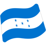Flag: Honduras on Google Android 7.1