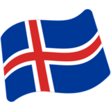 Flag: Iceland on Google Android 7.1