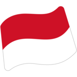 Flag: Indonesia on Google Android 7.1