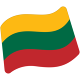 Flag: Lithuania on Google Android 7.1