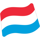 Flag: Luxembourg on Google Android 7.1