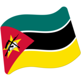 Flag: Mozambique on Google Android 7.1