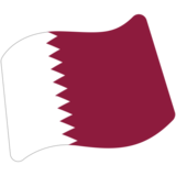 Flag: Qatar on Google Android 7.1