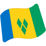 Flag: St. Vincent & Grenadines on Google Android 7.1