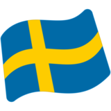 Flag: Sweden on Google Android 7.1