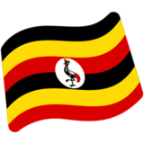 Flag: Uganda on Google Android 7.1