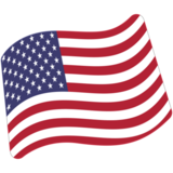 Flag: United States on Google Android 7.1