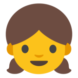 Girl on Google Android 7.1