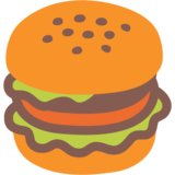 Hamburger on Google Android 7.1