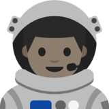 Man Astronaut: Light Skin Tone on Google Android 7.1