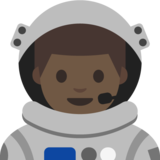 Man Astronaut: Medium Skin Tone on Google Android 7.1
