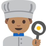 Man Cook: Medium Skin Tone on Google Android 7.1