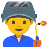 Man Factory Worker on Google Android 7.1