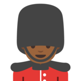 Man Guard: Medium-Dark Skin Tone on Google Android 7.1
