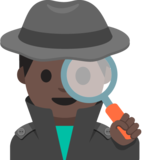 Man Detective: Dark Skin Tone on Google Android 7.1