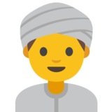 Person Wearing Turban on Google Android 7.1